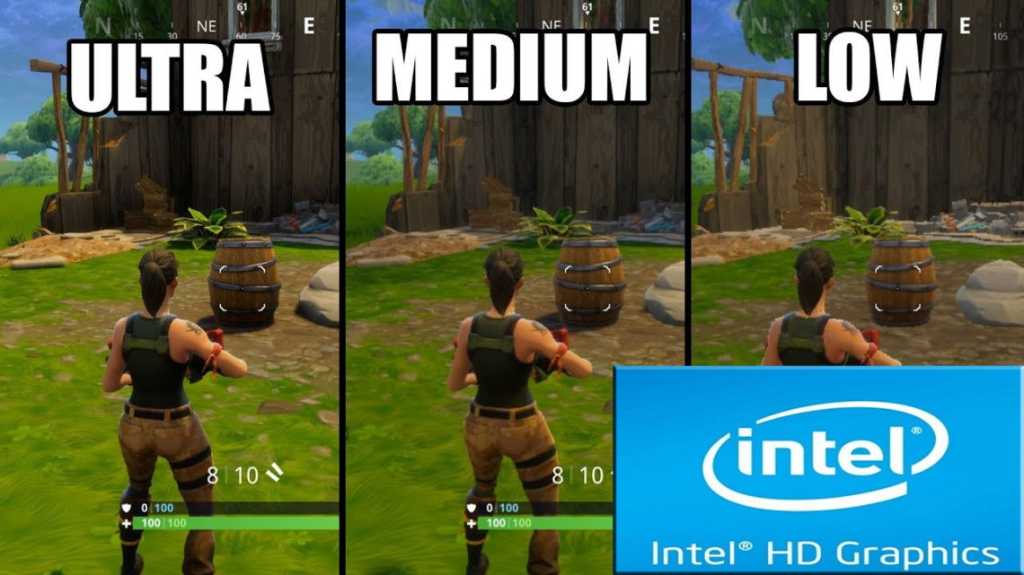 Fortnite Intel HD 3000 | Can Intel Laptops Play Fortnite?