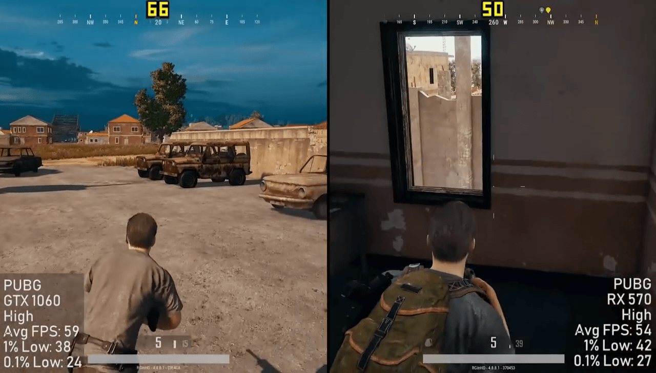 PUBG FPS Graphics Cards