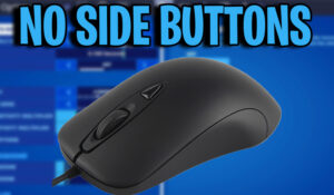 NO SIDE BUTTONS MOUSE FORTNITE SETTINGS